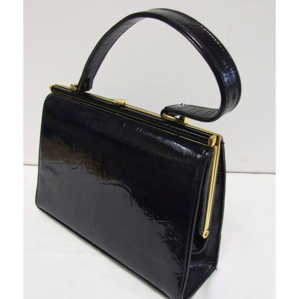 ffaaee5d681 Vintage Maclaren Clasp Handbag - 1960s Maclaren - Size: Not specified -  Black - Handbag