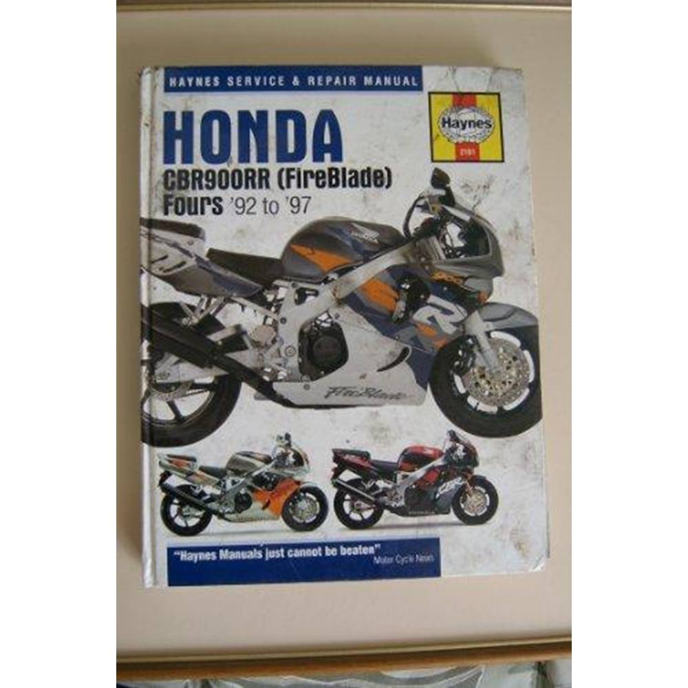 Honda CBR900RR (Fireblade) Fours Service and Repair Manual (Haynes Service  and Repair Manuals. Loading zoom