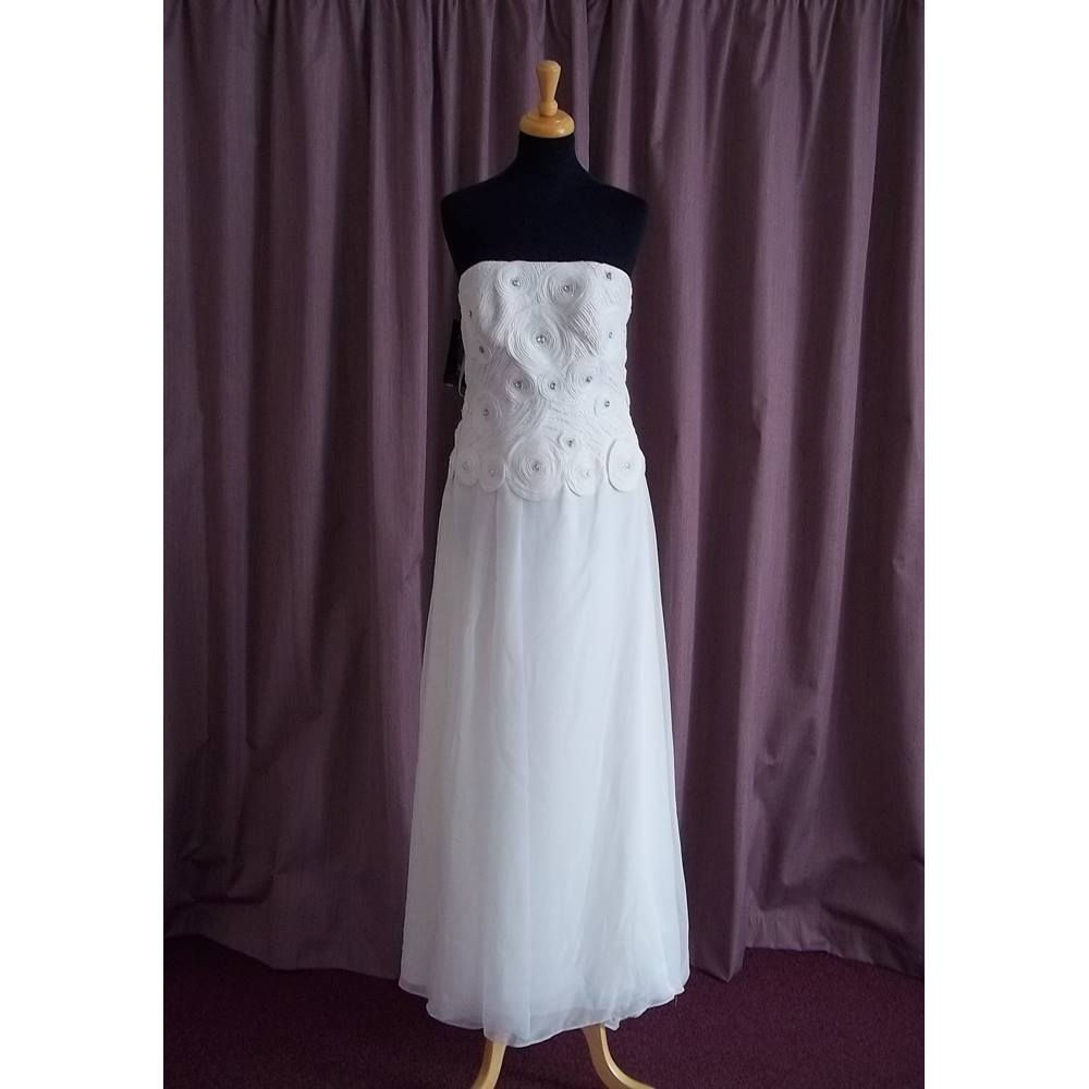 JS Boutique (House Of Fraser), Ivory Wedding Dress, Size