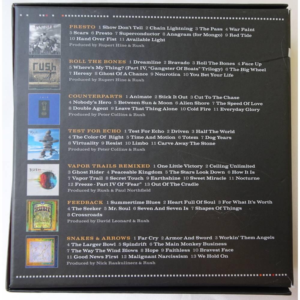 RUSH The Studio Albums 1989 - 2007 | Oxfam GB | Oxfam's Online Shop