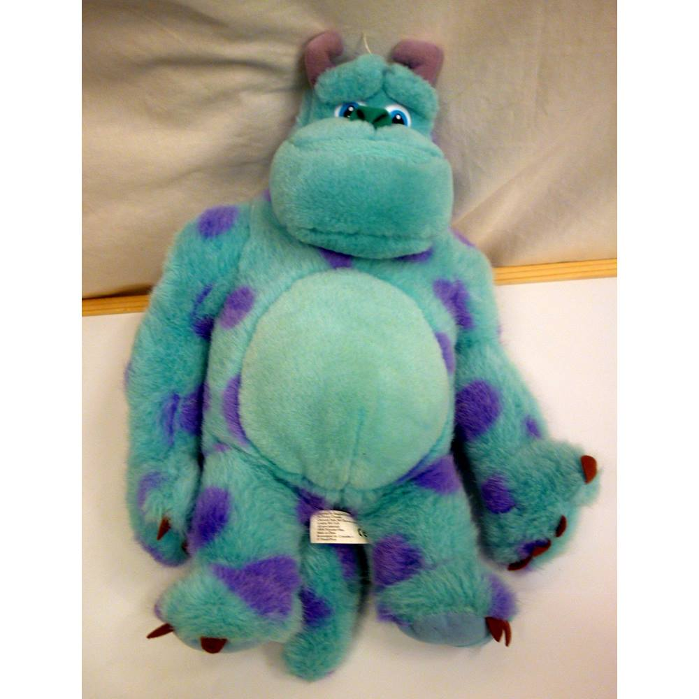 disney plush sully from monsters inc soft toy teddy 15 inch large