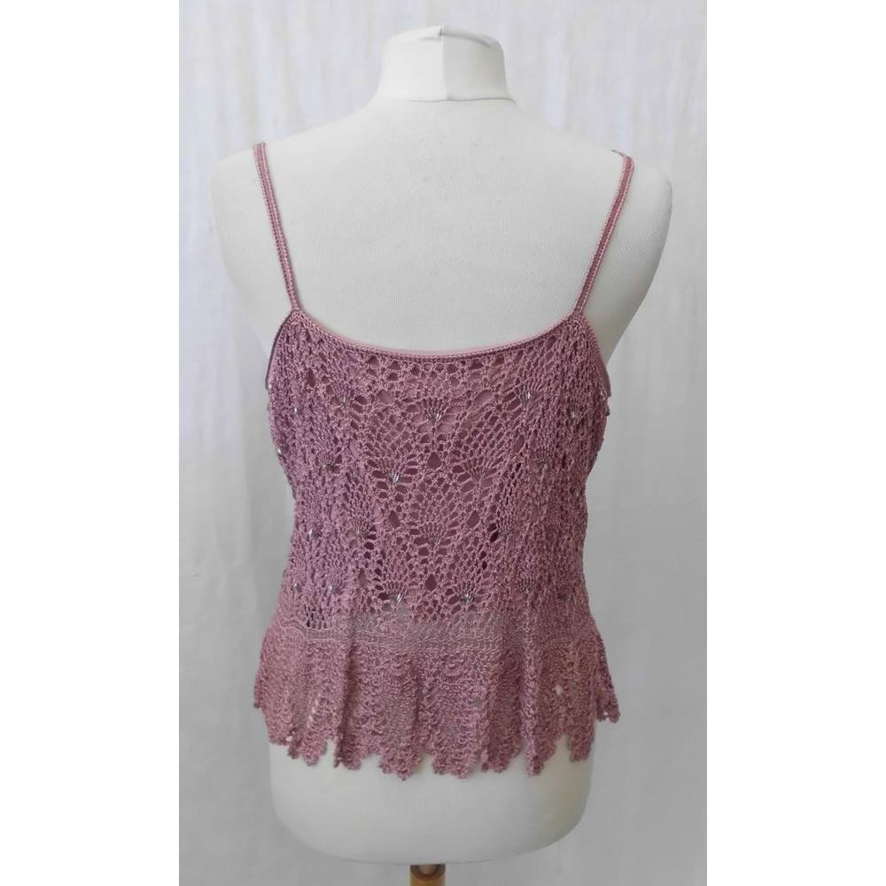 0e9f3616fea Maria Grachvogel - Size  L - Pink - Strapless top. Loading zoom. Rollover  to zoom