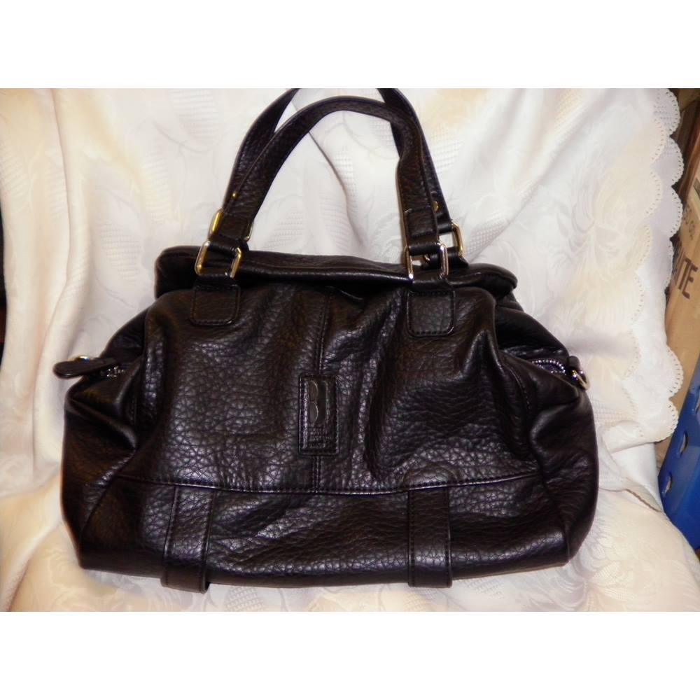 Betty Jackson Black Handbag In Debenhams Size M Loading Zoom