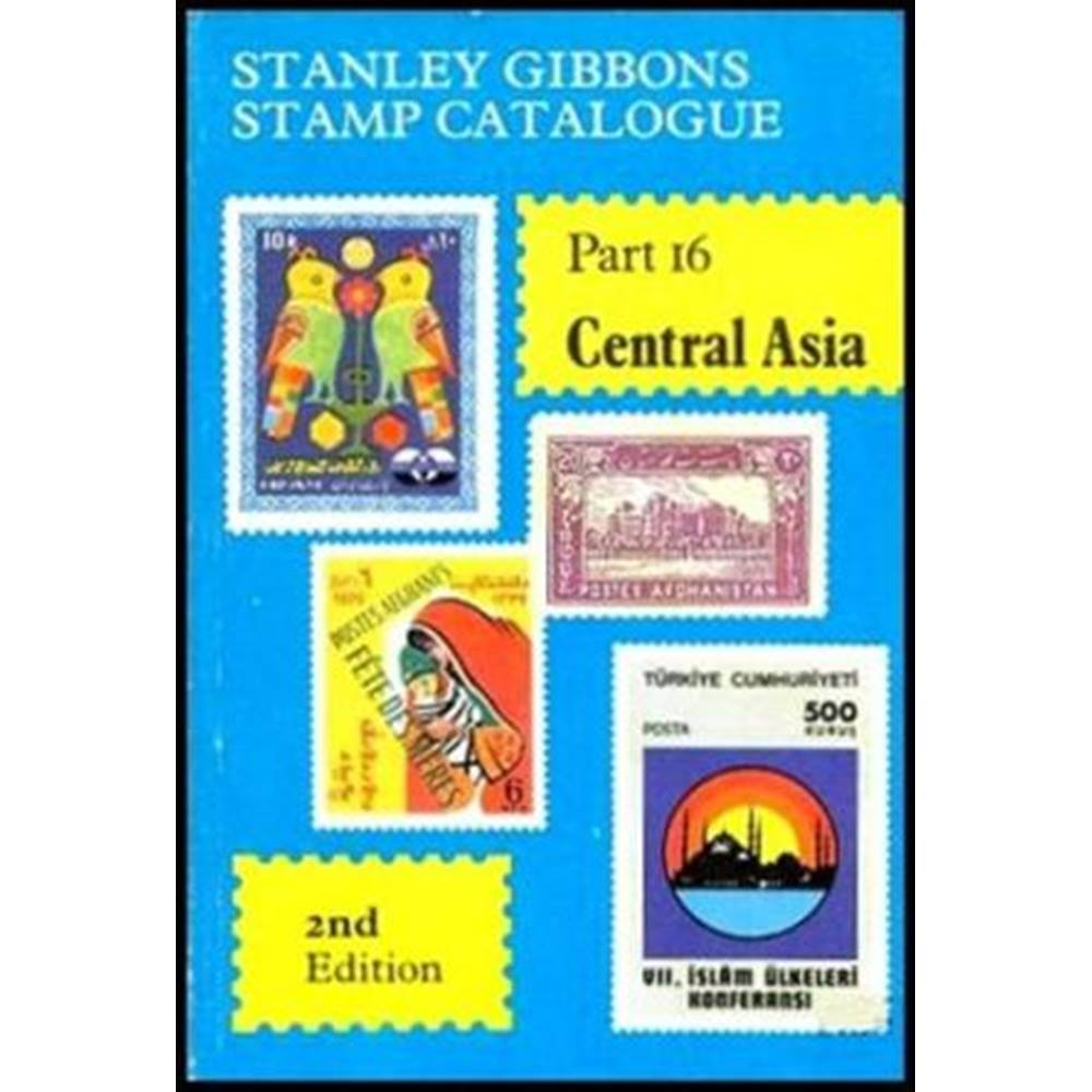 Stanley Gibbons Stamp Catalogue Part 16 Central Asia | Oxfam GB | Oxfam's  Online Shop
