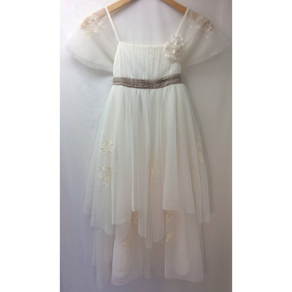 d5b7c84f9434 Monsoon - Size  11 - 12 Years - Cream   ivory - Evening dress