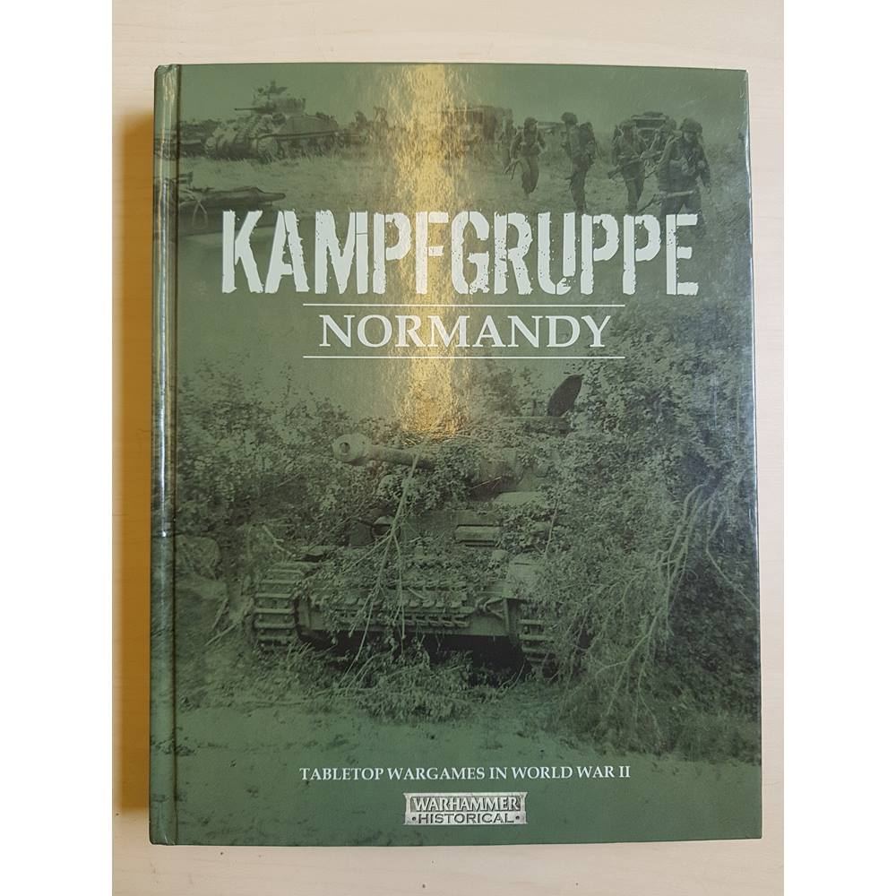 Kampfgruppe Normandy (rare Warhammer WWII OOP title) | Oxfam GB | Oxfam's  Online Shop