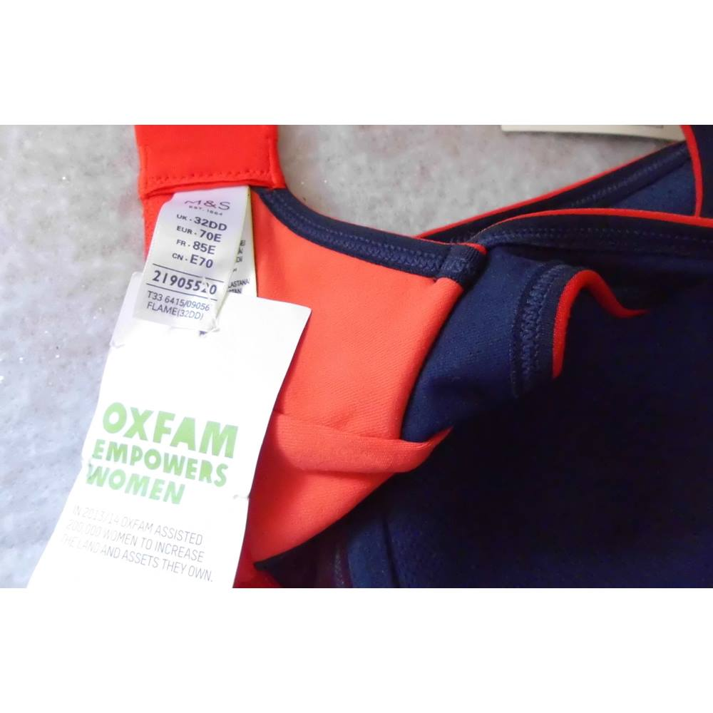 a865918ade937 M S Marks and Spencer Sports Bra (new) size 32DD. Loading zoom. Rollover to  zoom