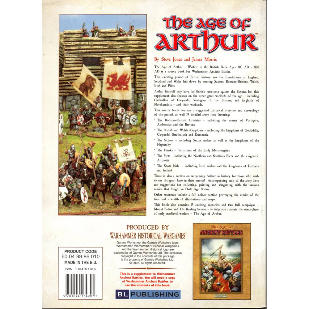 The Age of Arthur - Warfare in the British Dark Ages 400 AD - 800 AD |  Oxfam GB | Oxfam's Online Shop