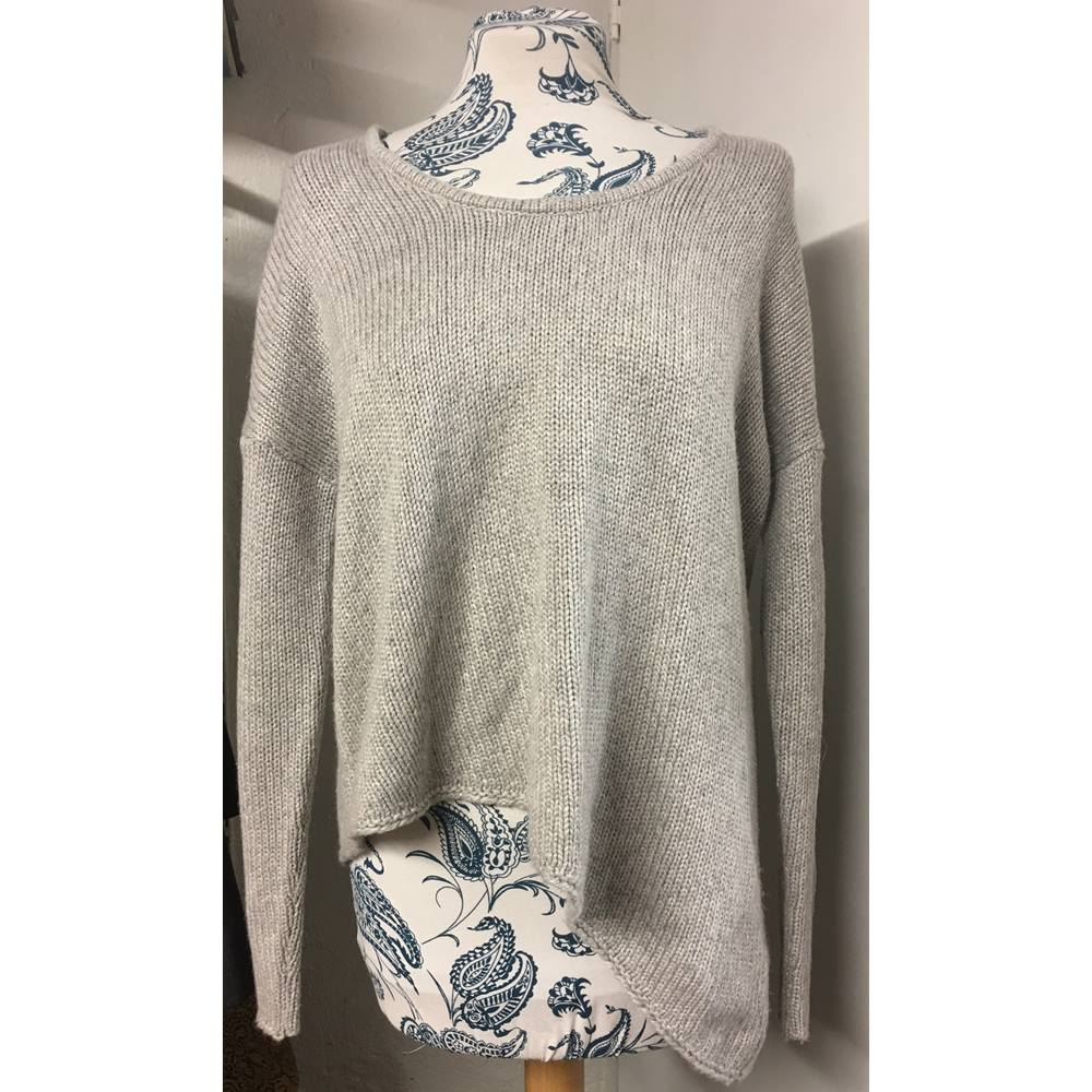 6bc807f87e7a7 Helmut Lang Grey Sweater Helmut Lang - Size  S - Grey - Jumper