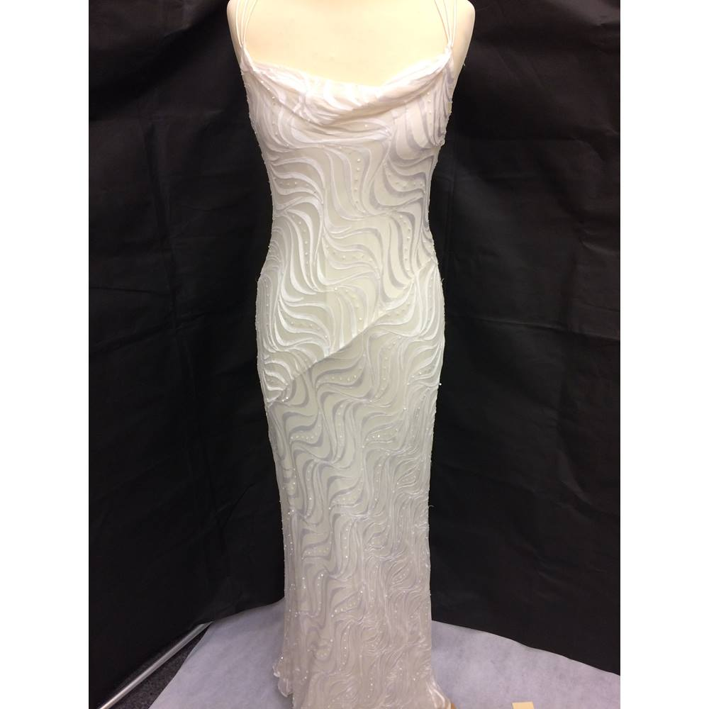 Monsoon wedding dress- size 8-ivory Monsoon - Size: 10 - Cream ...
