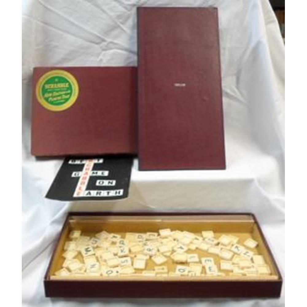 Vintage Scrabble  New Edition with Plastic Tiles  JW Spear & Sons Ltd  |  Oxfam GB | Oxfam's Online Shop