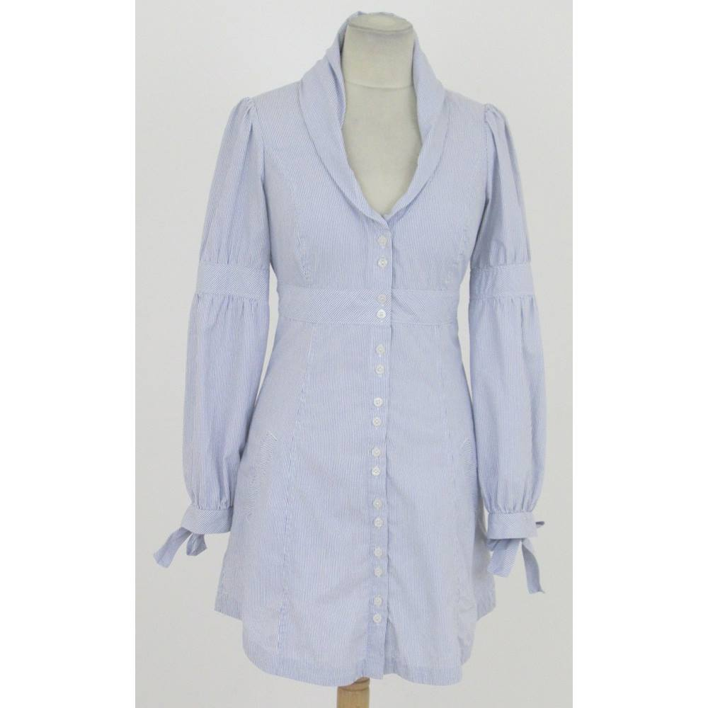 c8e004270 Ted baker size white and blue striped shirt dress oxfam jpg 1000x1000 Ted  baker lavender dress