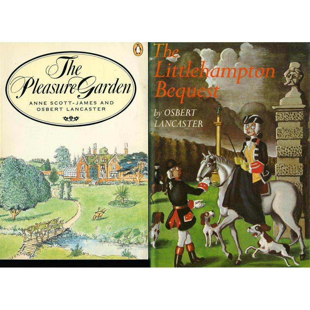 Two Osbert Lancaster books