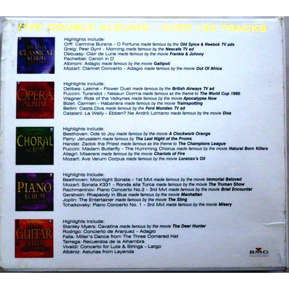 The Only Classical Box Set You'll Ever Need Various | Oxfam GB | Oxfam's  Online Shop