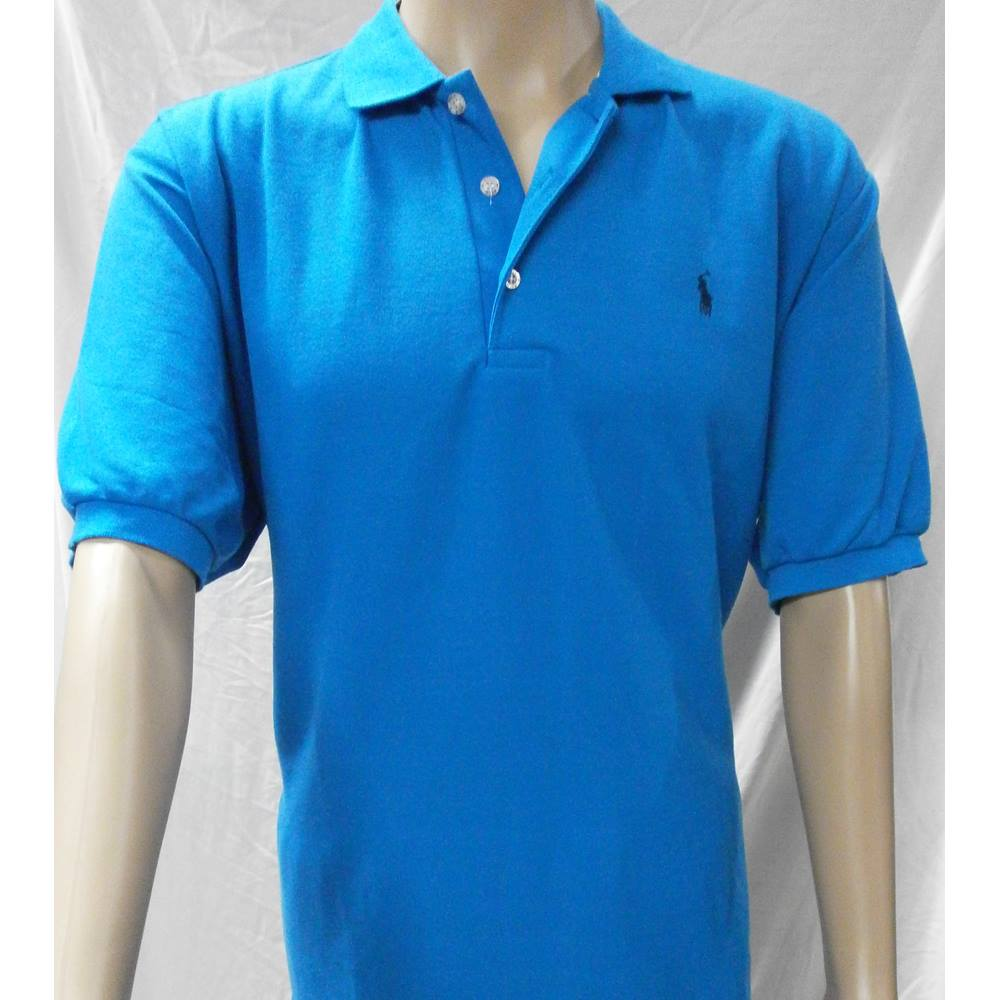 007e009f9 ... sale ralph lauren size xl blue short sleeved. loading zoom 23700 0d807