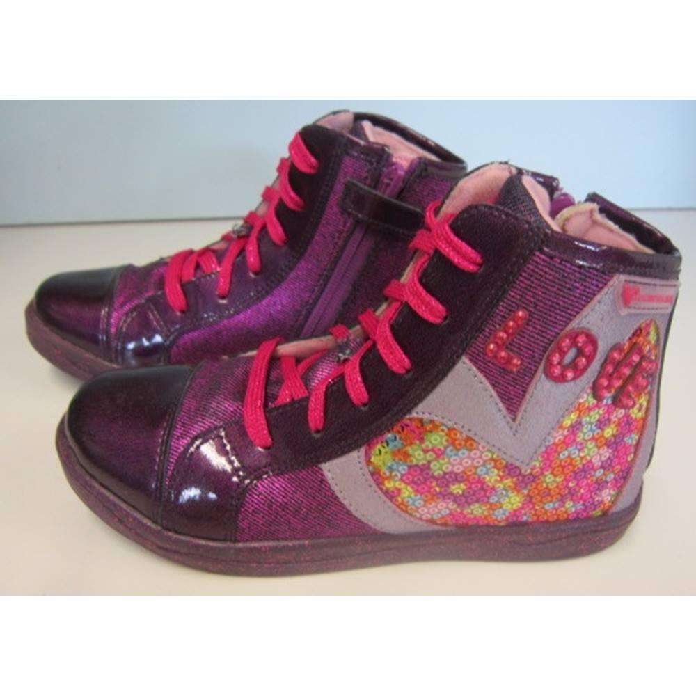 21f2594a183 Agatha Ruiz De La Prada - Size: 33 ( UK 1) - Purple Multi - Lace up ...