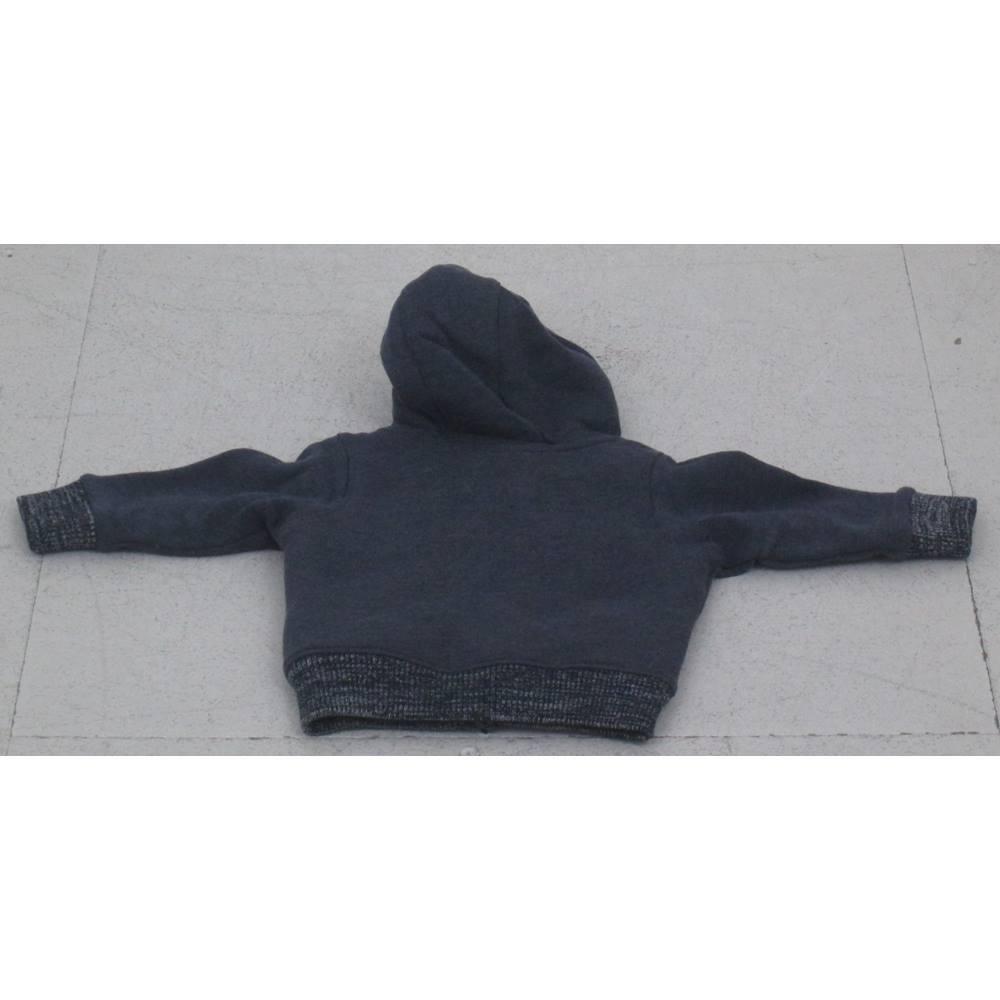 b7a40e85c NWOT M S Kids- Size  6-9 months Navy hoodie