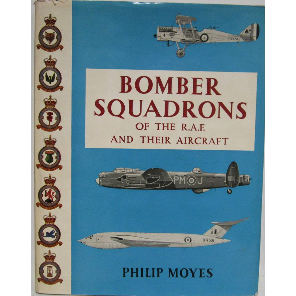 Bomber Squadrons of the RAF and their aircraft | Oxfam GB | Oxfam's Online  Shop