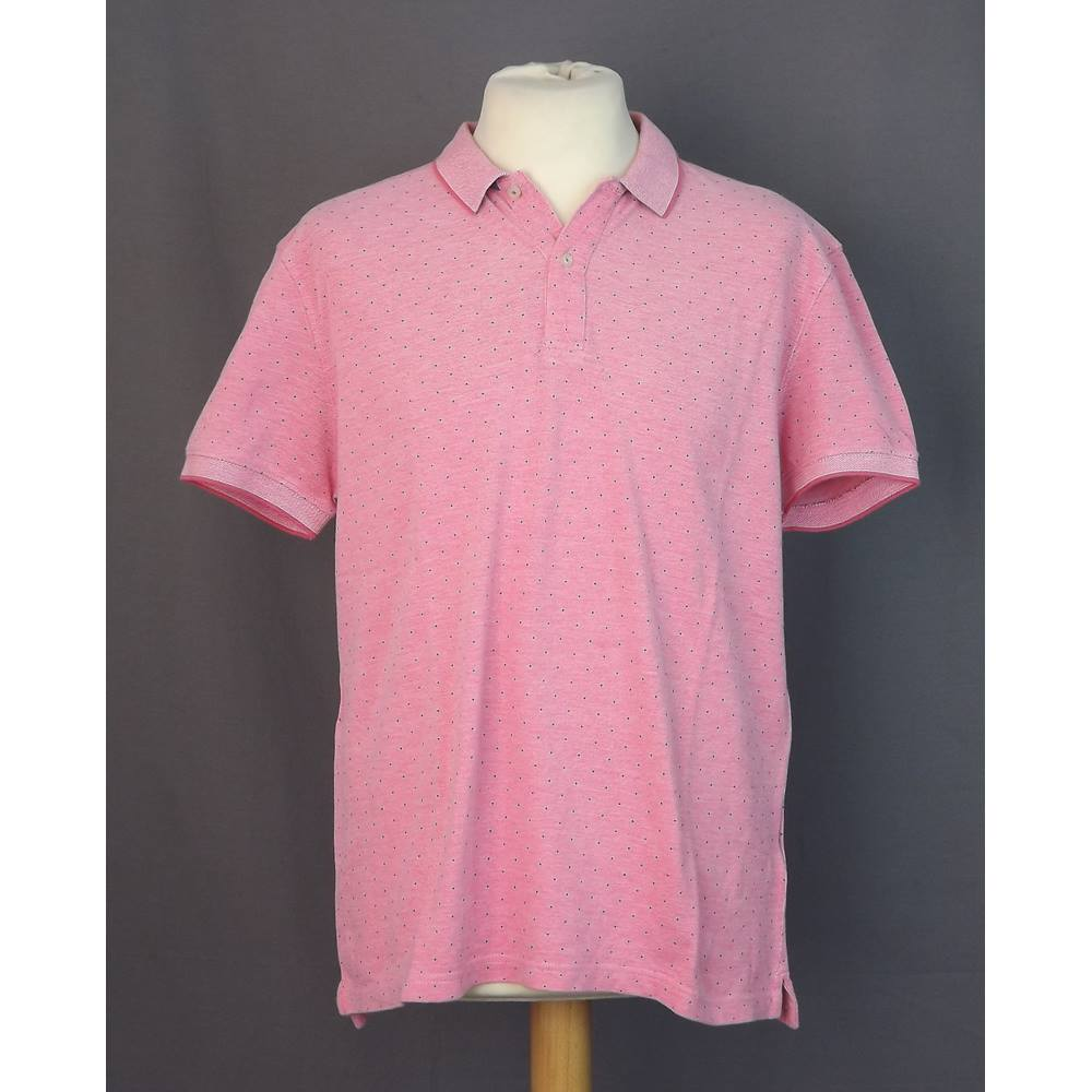14c3ab4d860d Massimo Dutti - Size  XL - Pink - Polo shirt