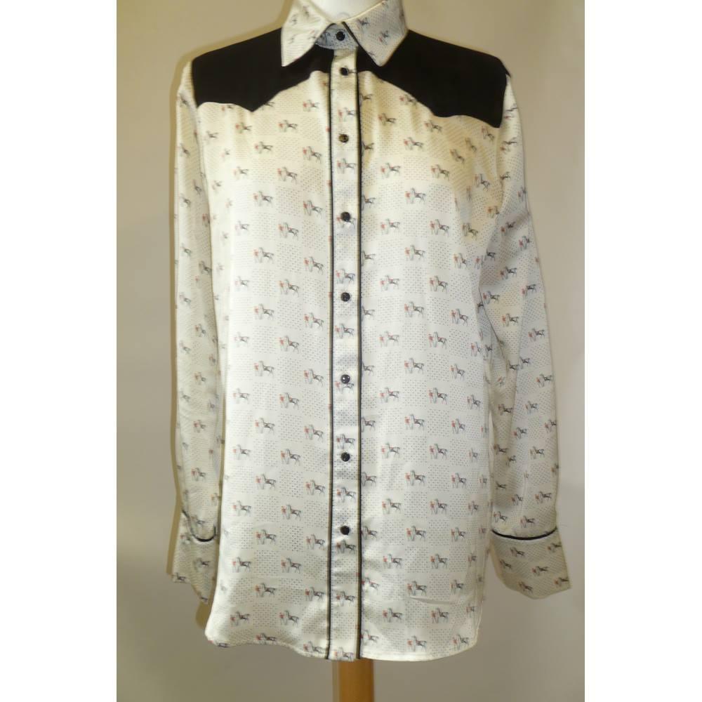 9206a64036 Brand New Zara White Blouse Size L | Oxfam GB | Oxfam's Online Shop
