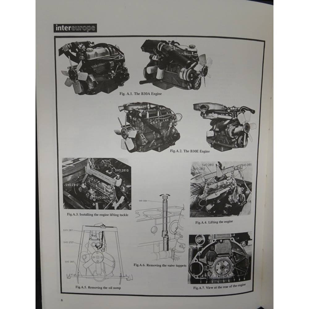 Intereurope Workshop Manual 219 For Volvo 164 164e From 1968 Austin Champ Wiring Diagram Rollover To Zoom
