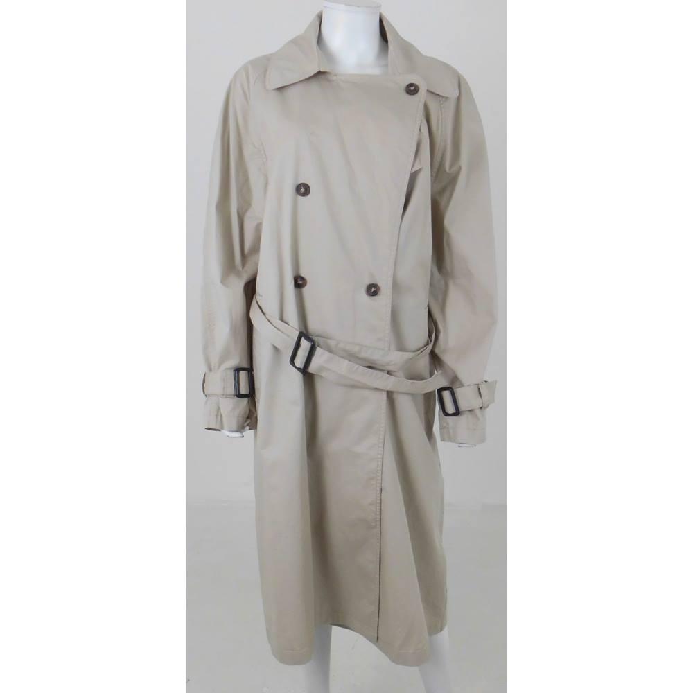 d0d1ec46a041 BNWT H M Size  14 Beige Trench coat
