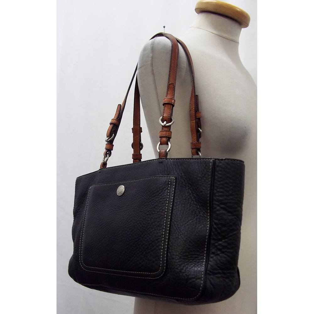 Coach - Size  M - Black - Shoulder bag - Leather  254382ae01c52