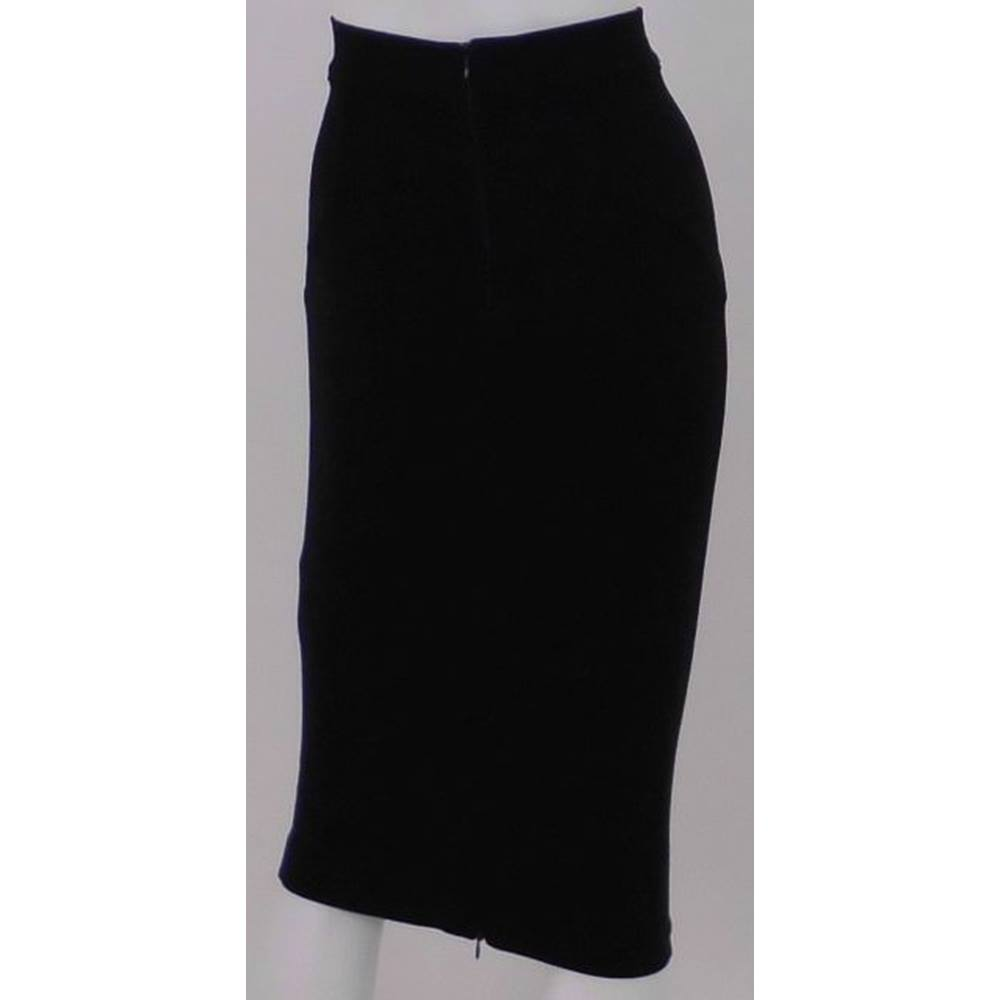 eb3320442f Whistles Size 8 Black Bodycon Skirt | Oxfam GB | Oxfam's Online Shop