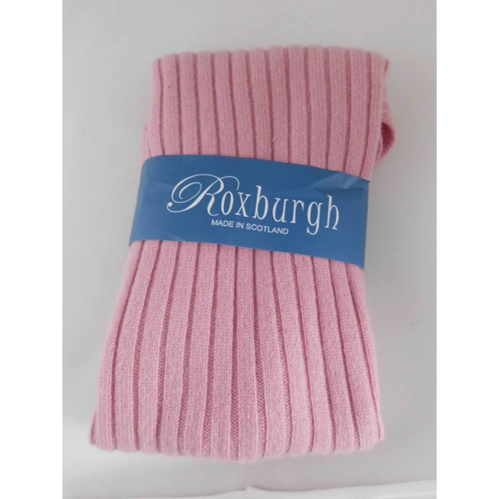 ee25492093d481 Scottish Cashmere Wool Scarf Roxburgh - Size: One size: regular - Pink -  Scarf