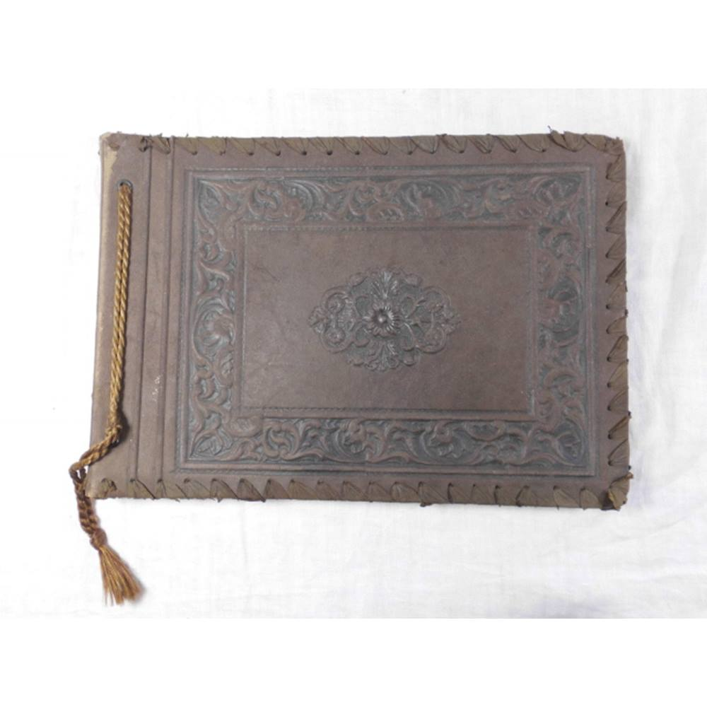 Antique Leather Photograph Album For Sale In Hexham London Preloved