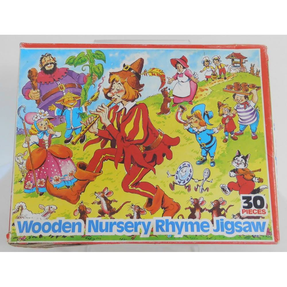 Vintage Wooden Jigsaw Puzzle For Sale In Exeter London Preloved