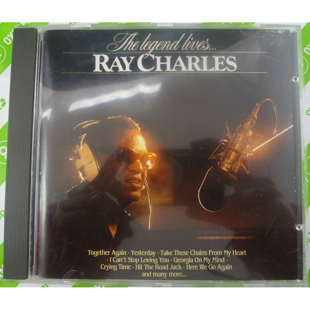 The Legend Lives - Ray Charles | Oxfam GB | Oxfam's Online Shop