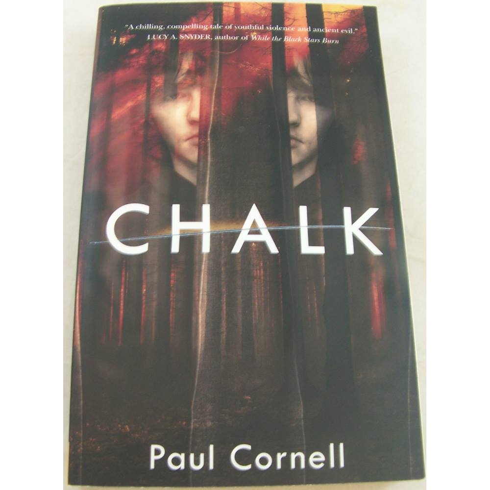 Preview of the first image of Chalk (Signed by Author).