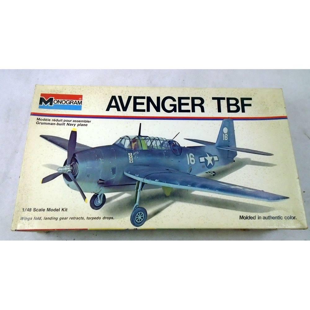Monogram Avenger TBF model Aircraft Kit | Oxfam GB | Oxfam's Online Shop