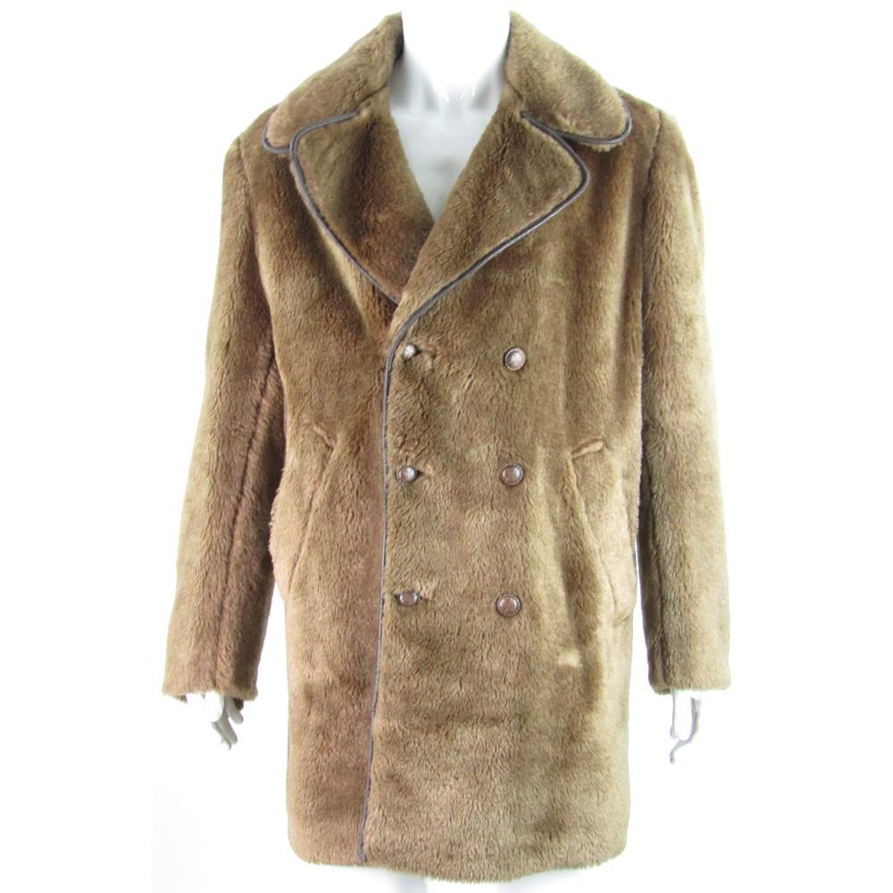 f60ac5533 VINTAGE- John Collier - Size XXL - Brown - Faux Fur Double ...
