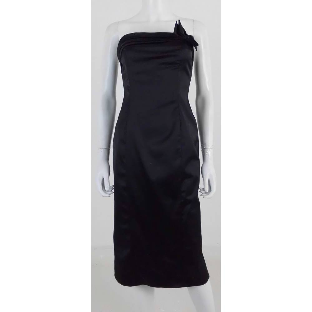 b6832aa8ea17 Coast Size 12 Black Strapless Evening Dress | Oxfam GB | Oxfam's ...