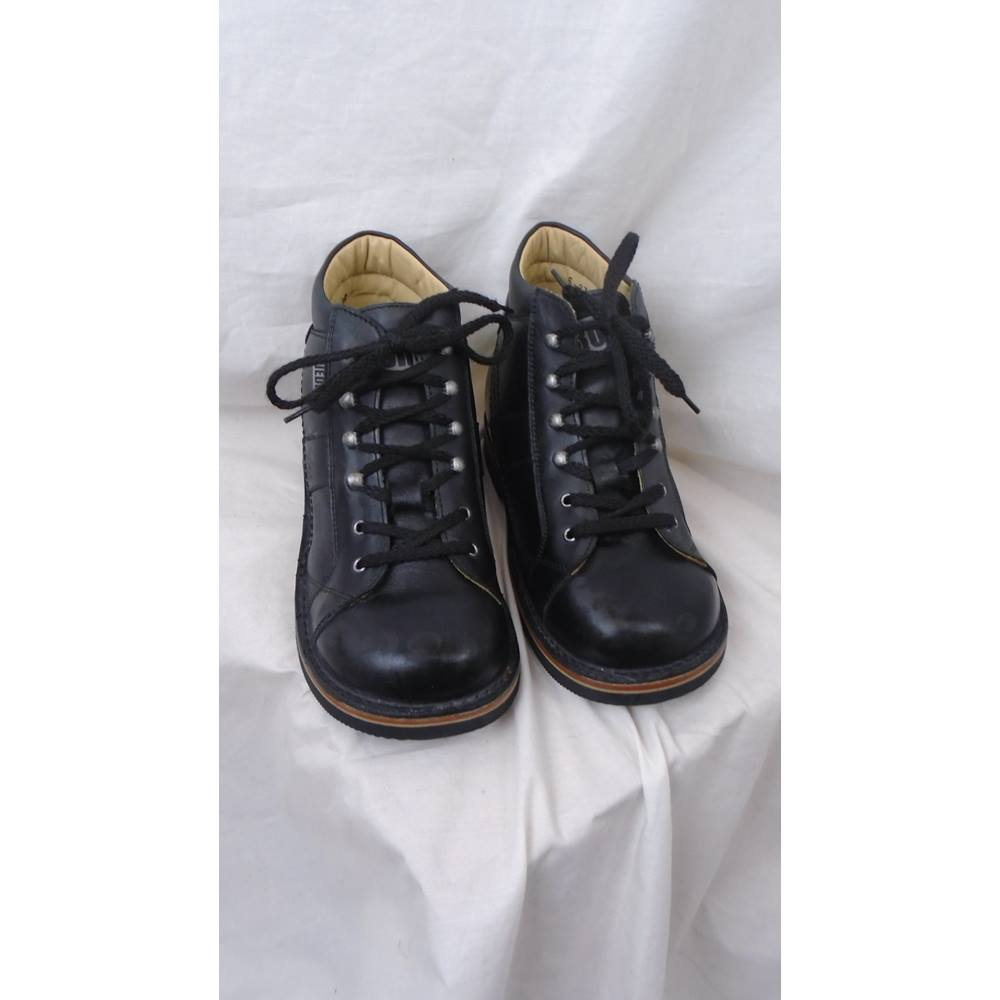 90eac37da3 BLACK LEATHER PIEDRO ORTHOPAEDIC SUPPORT BOOTS JUNIOR SIZE 3 (36 EUR) Piedro  - Size