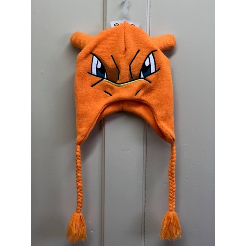 d5022aad5c6 Pokemon Charizard Knitted Laplander Beanie Hat