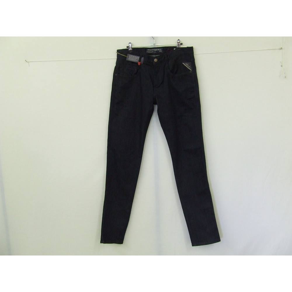 official photos cbe6e d0ea9 MEN'S REPLAY BLUE JEANS ANBASS DARK DENIM JEANS SIZE 32 LENGTH 34 replay  blue jeans mfg.co - Size... For Sale in Liverpool, London   Preloved