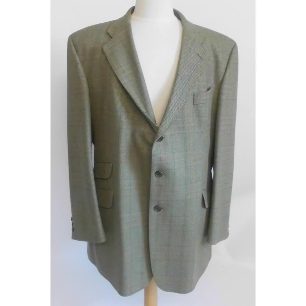bb43401946f94 Brook Taverner Tailored Tweed Wool Jacket Size XL   Oxfam GB ...