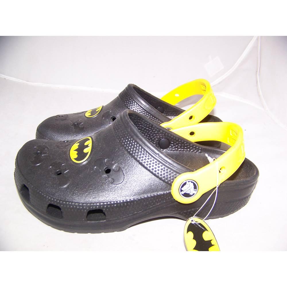 bb3067c40a92 Crocs - Size  2-4 - Black - Batman