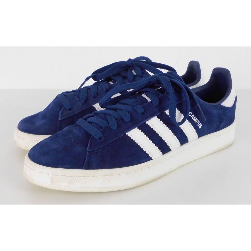 Adidas Size 9 Royal Navy