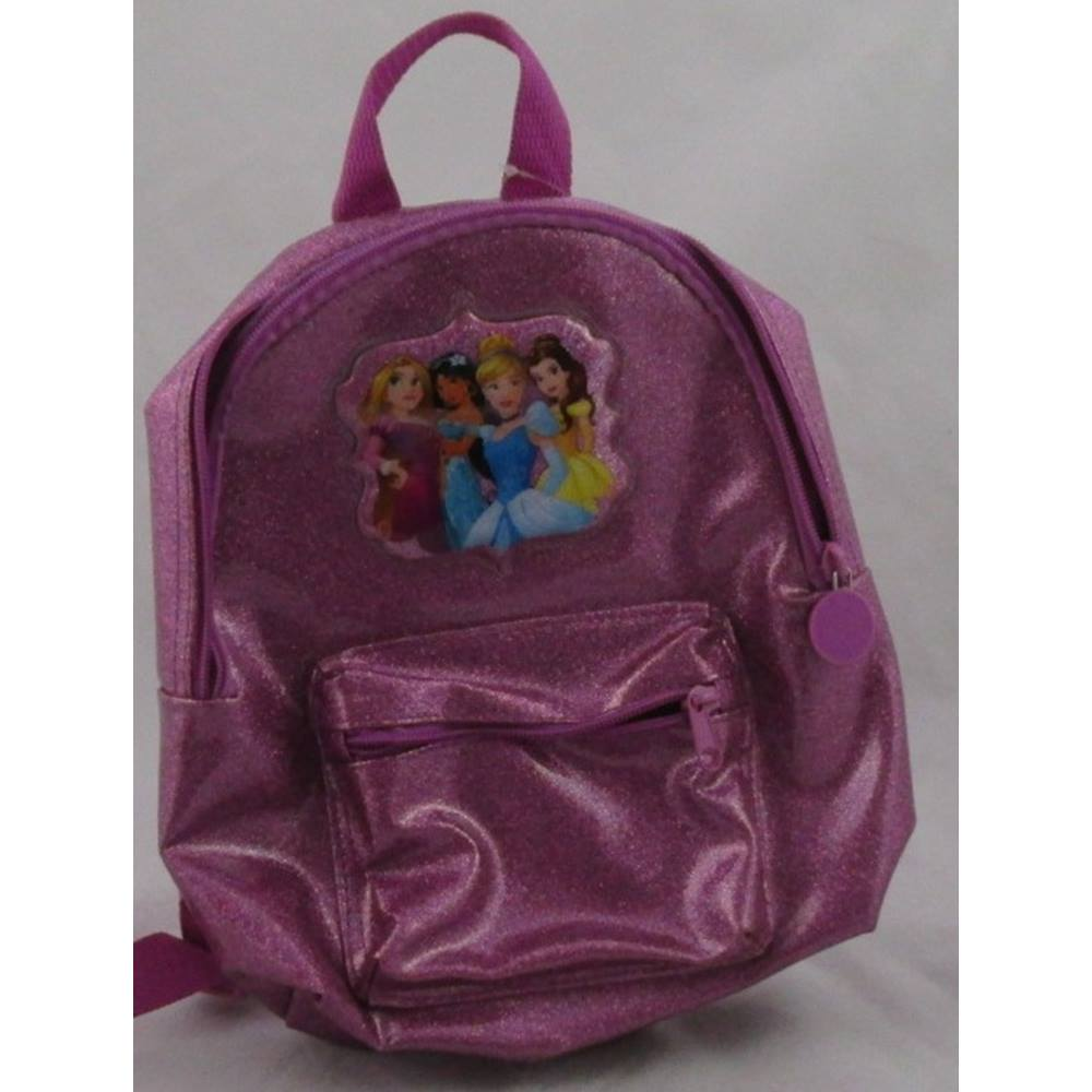 NWOT M S Kids Pink Disney princesses backpack. Loading zoom 6f0f64874b3a8