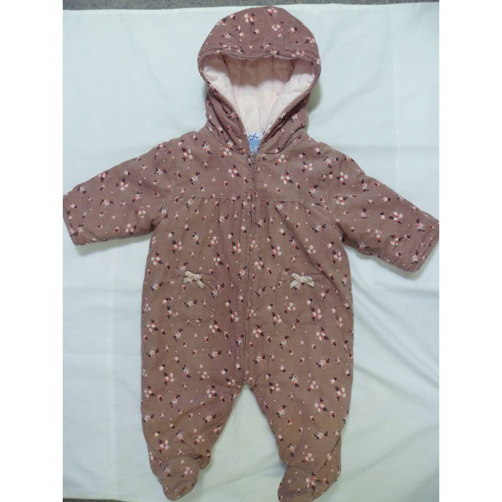 4957ebb710a7 Jasper Conran (Junior) 0 - 3 months brown Rompersuit