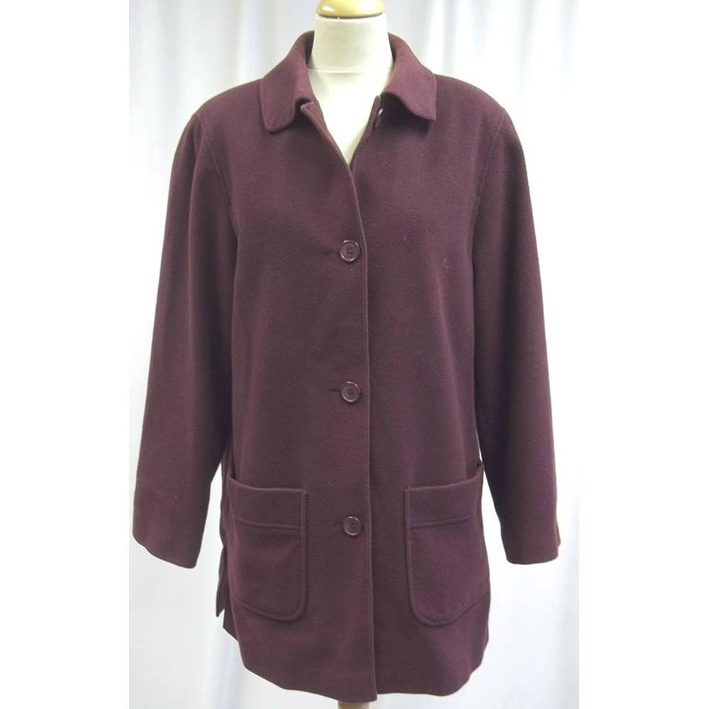 bd9869a758 ... coat is by brand name Cotswold Collections. It is a size 12 and has a  classic design to it. I cannot confirm fabric but can say it feels like  wool