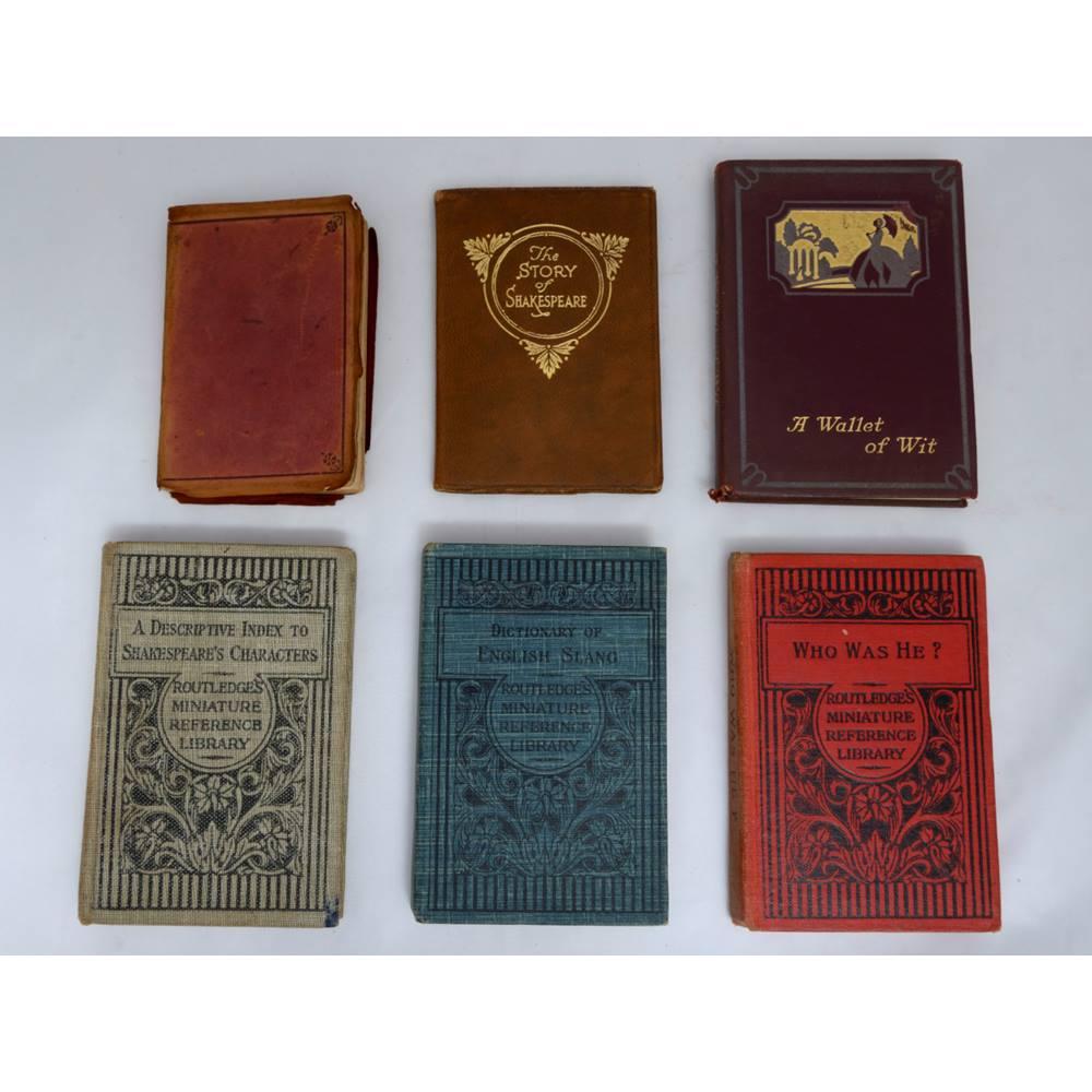 Six charming miniature books  | Oxfam GB | Oxfam's Online Shop