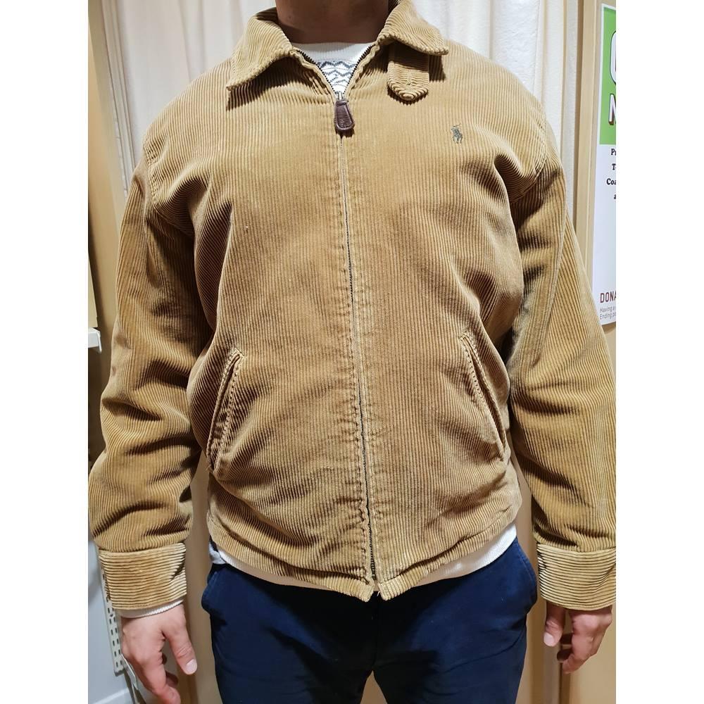8f7d601bd Polo Ralph Lauren Corduroy Jacket Ralph Lauren - Size  M - Yellow - Jacket.  Loading zoom