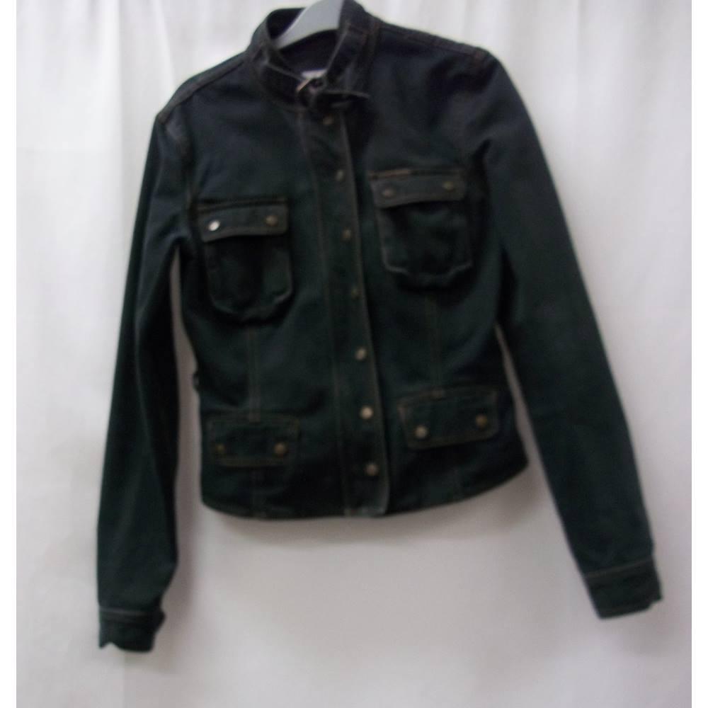 10eb55125 Calvin Klein Jeans - Size: S - Green - Casual jacket / coat | Oxfam GB |  Oxfam's Online Shop
