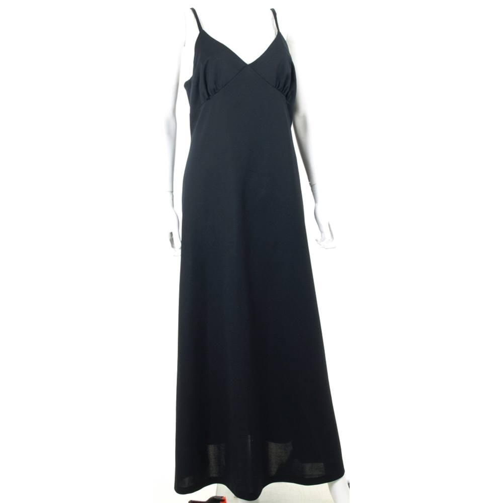 e381bb75ecc59 Unbranded Size  18 Black Evening dress