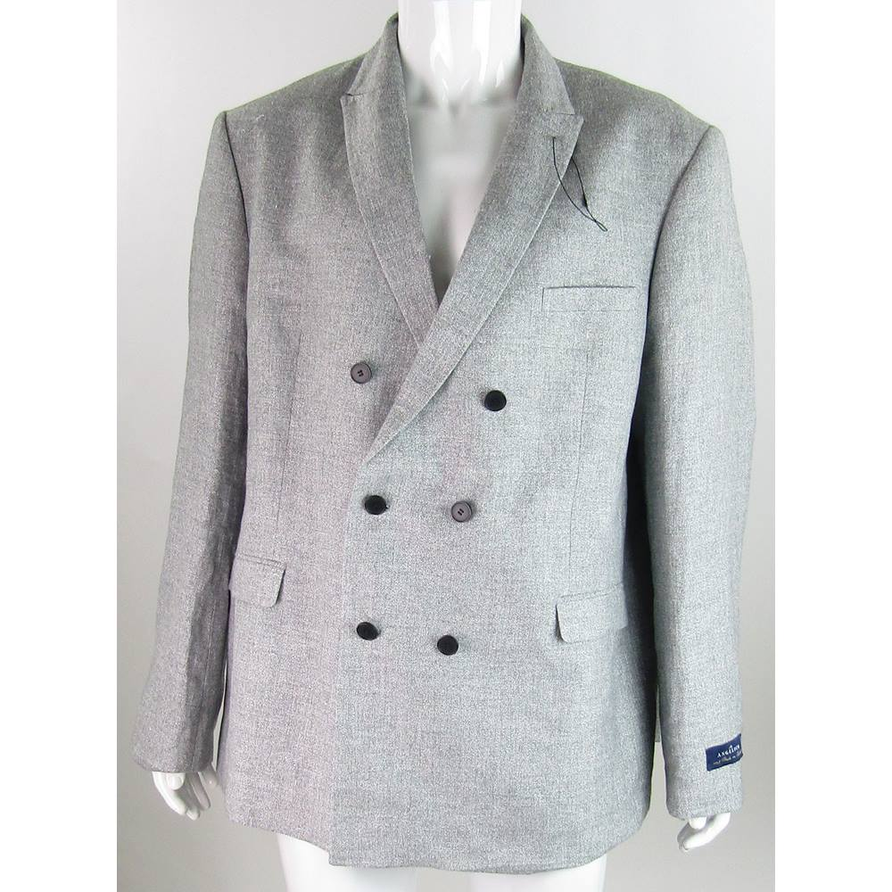 8eea864f85c ... Double Breasted Suit Jacket. BNWOT M S Autograph -Size  48
